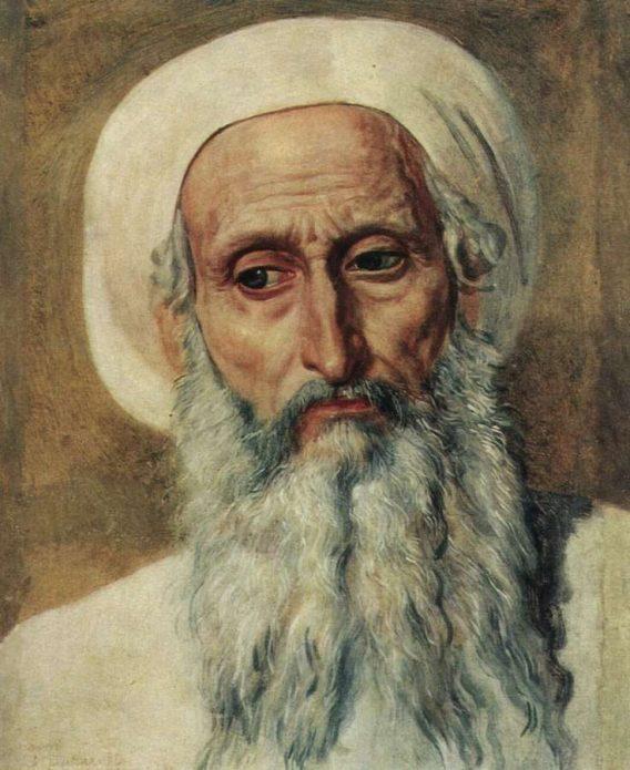 Голова фарисея в чалме (худ. А. Иванов)