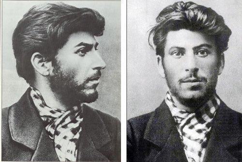 Фото И. В. Сталина, 1900 г