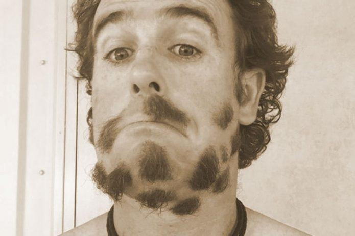 Пример неудачно подстриженной бороды