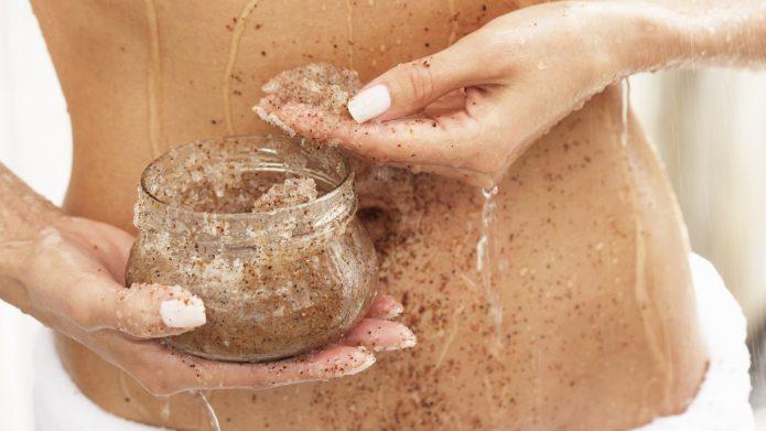 запрет на интенсивное отшелушивание кожи