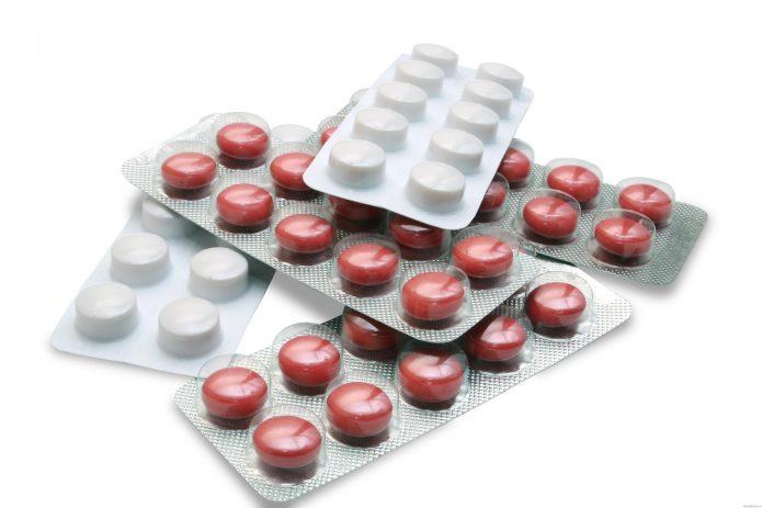 антибиотики и аспирин