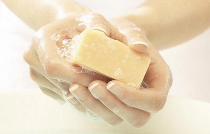 химически агрессивное мыло