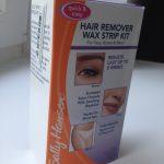 Sally Hansen Hair Remover Wax Strip Kit
