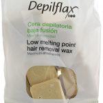 Горячий воск для депиляции Depilflax Слоновая кость