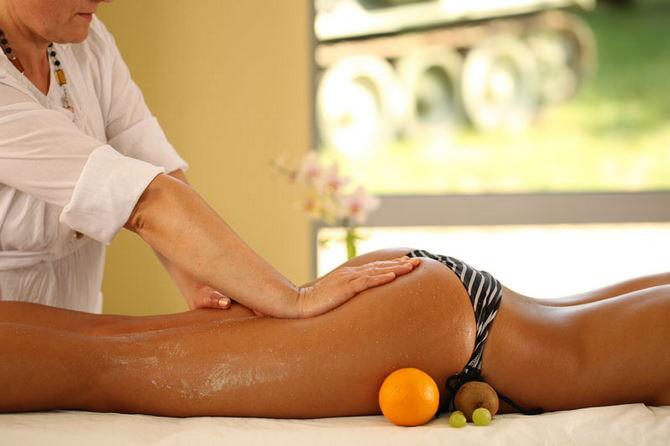 Салонный медовый массаж