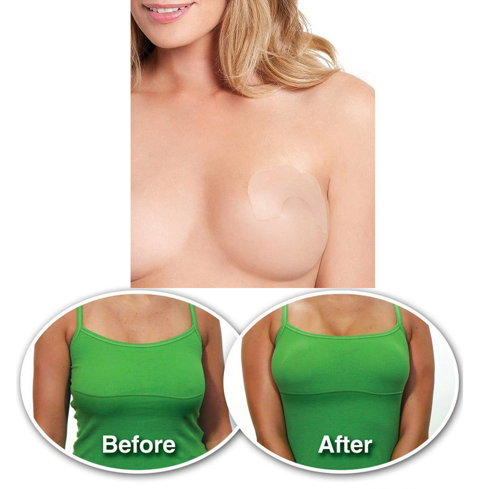 I tried boob tape and i may never wear a bra again