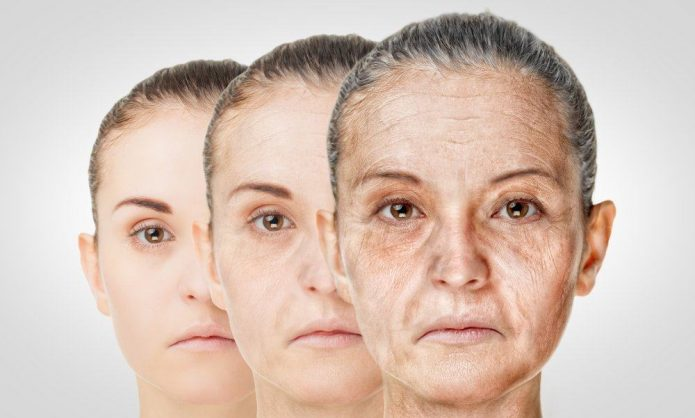 Этапы старения лица
