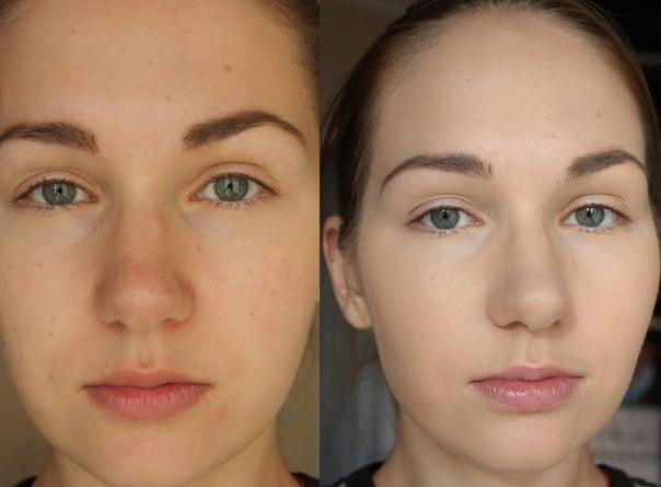 Результаты применения масок с добавлением моркови