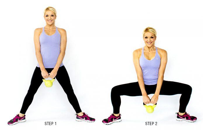 Упражнение для внутренней стороны бедра