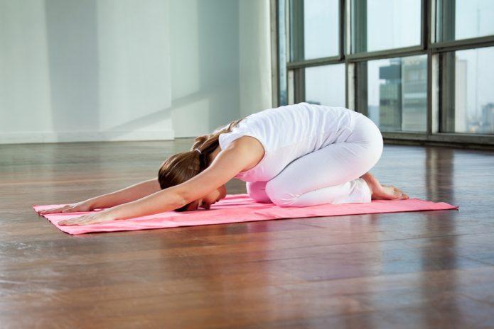 Расслабляющее упражнение