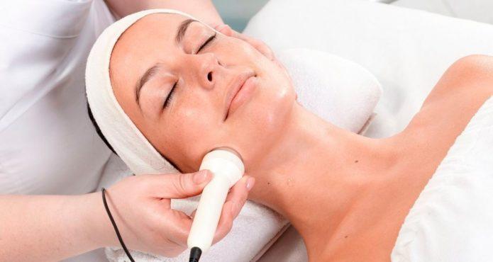 Ультразвуковая терапия лица