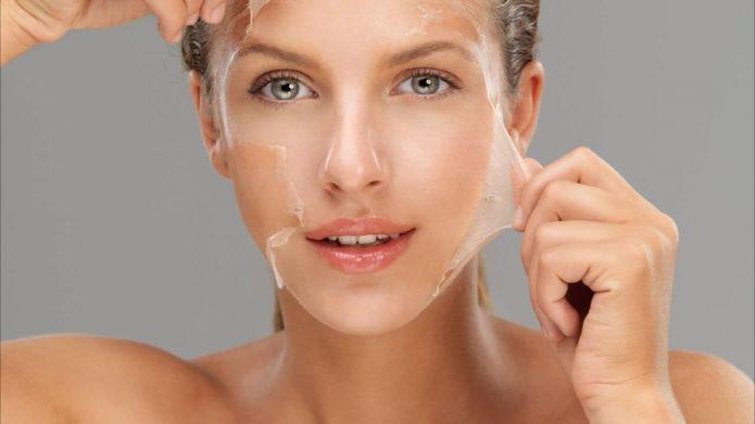 Белковая маска для подтяжки лица