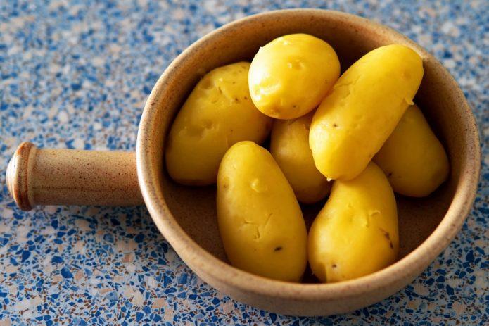 Варёный картофель