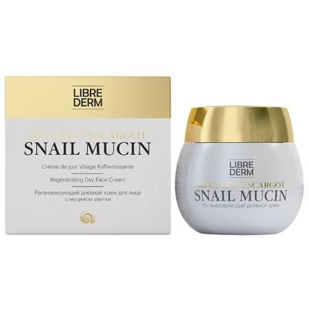Librederm Snail Mucin Регенерирующий дневной крем