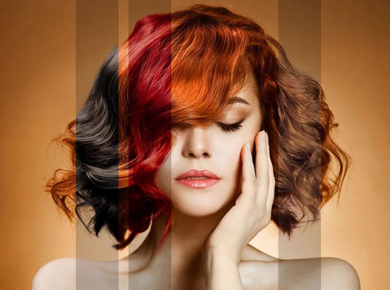 Хна окрашивает седые волосы