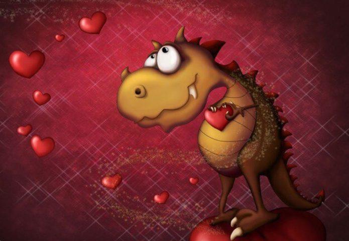Влюблённый дракон