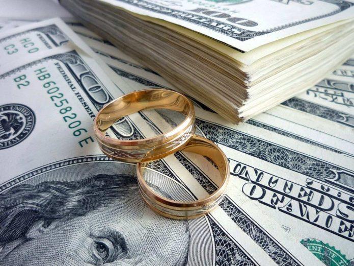Деньги и кольца