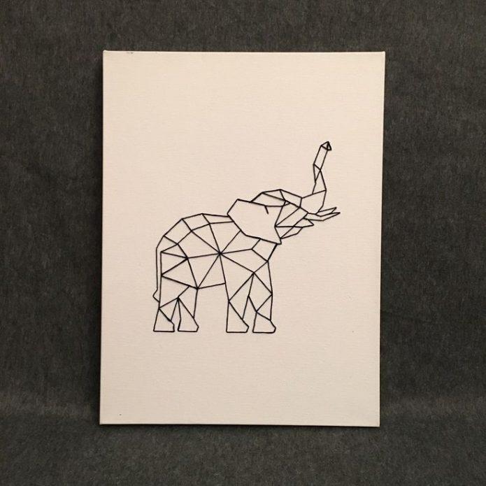 Эскиз слон