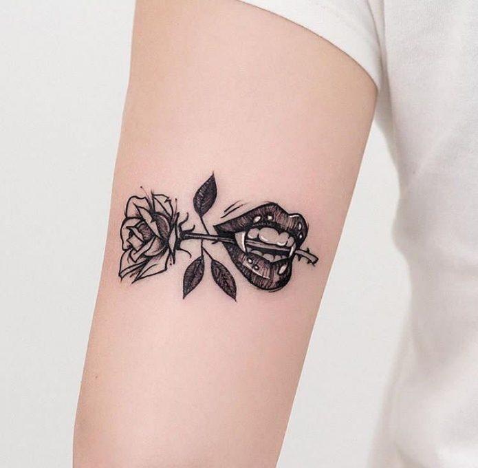 Необычная татуировка