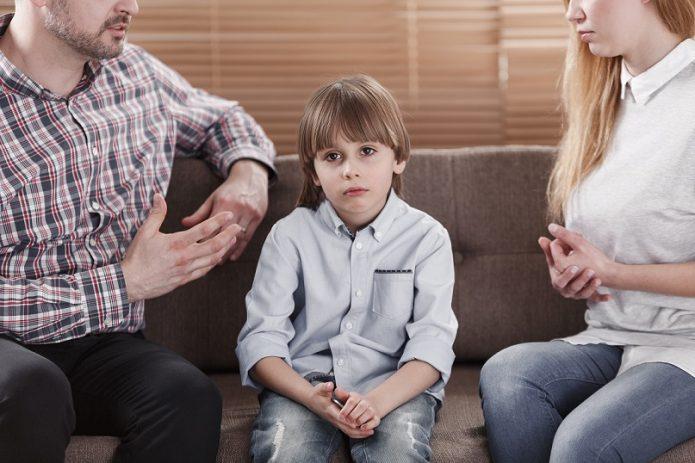Ребёнок и родители