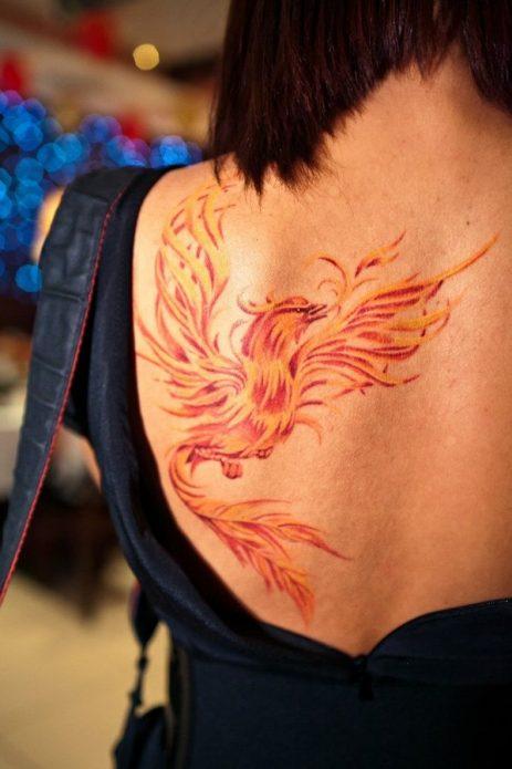 Цветное тату