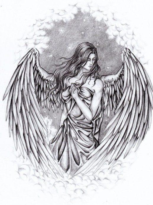 Эскиз ангел