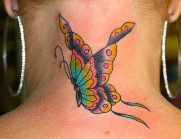 Идеи для татуировок бабочек