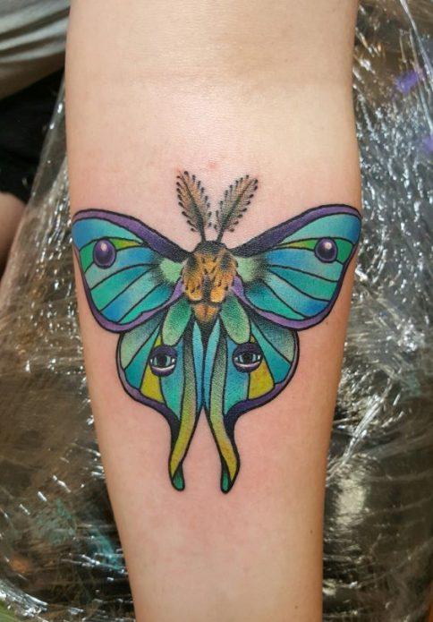 тату бабочка на руке, необычные татуировки бабочек