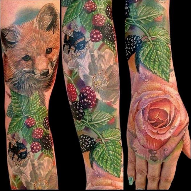 Цветы и животные