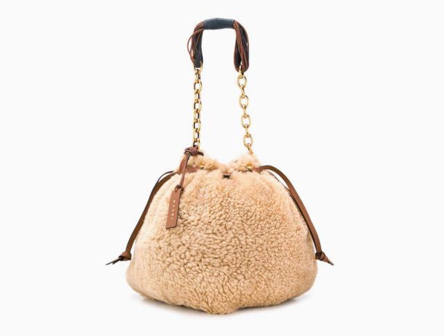 Меховая сумка Marni