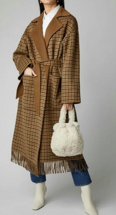 Меховая сумка с пальто