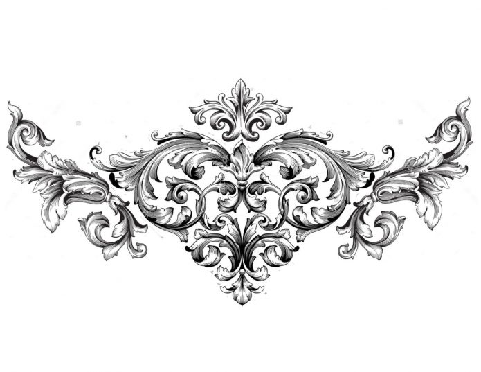 Эскиз орнамент