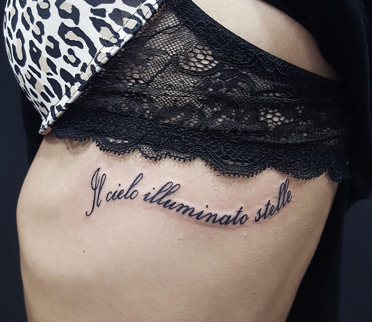 Картинки женских татуировок с надписями