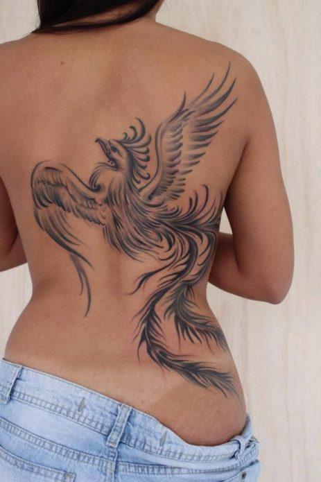 Татуировка феникс
