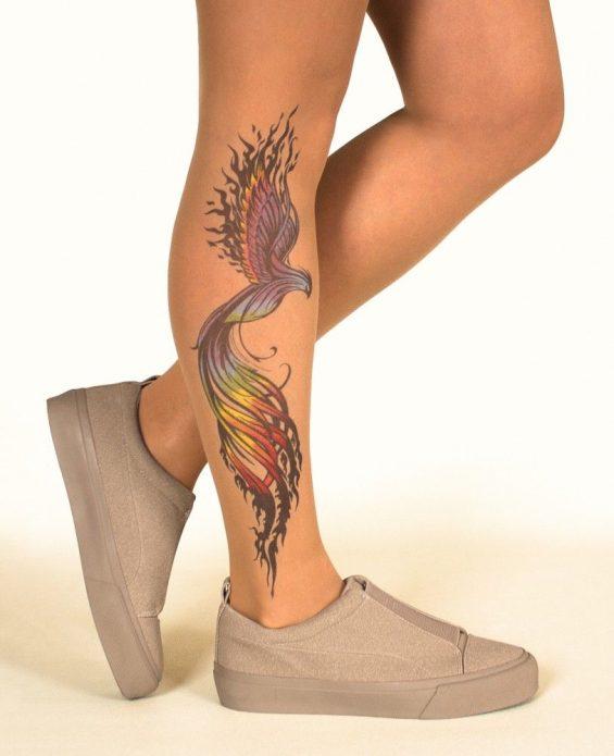 Феникс на ноге