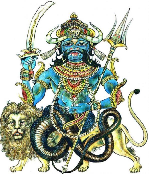 Божество Раху