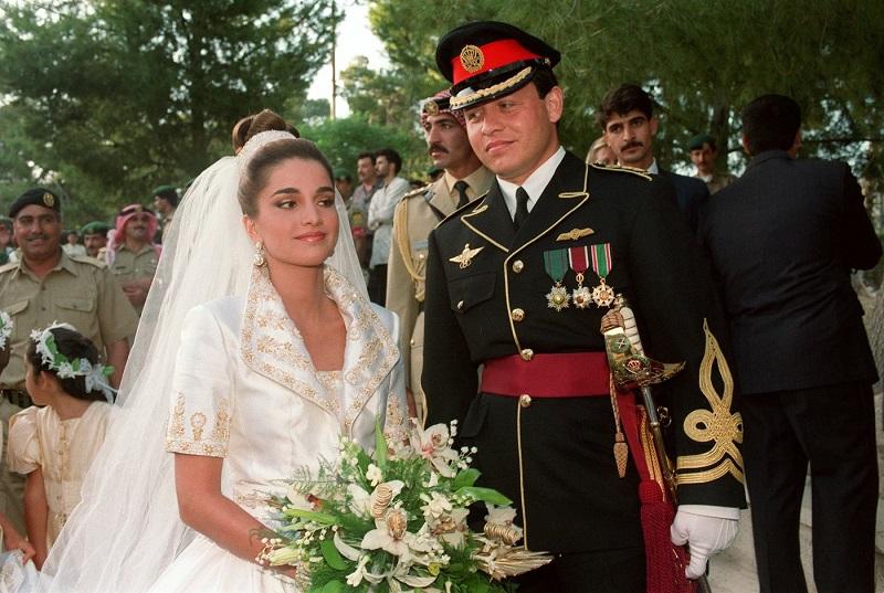Принцесса Рания и принц Абдалла