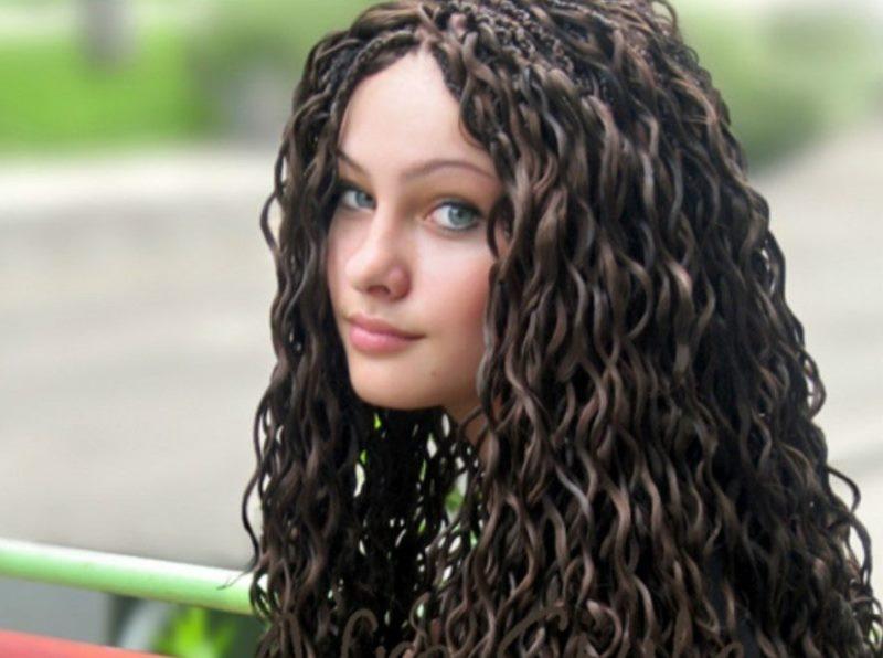 Как красиво уложить волосы без фена