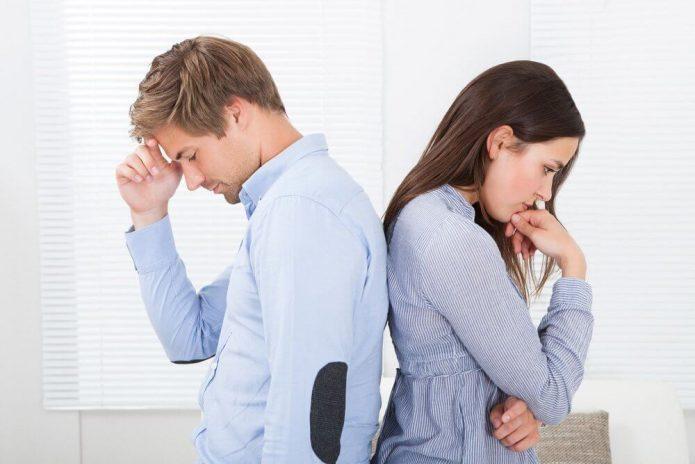 Ссора между супругами