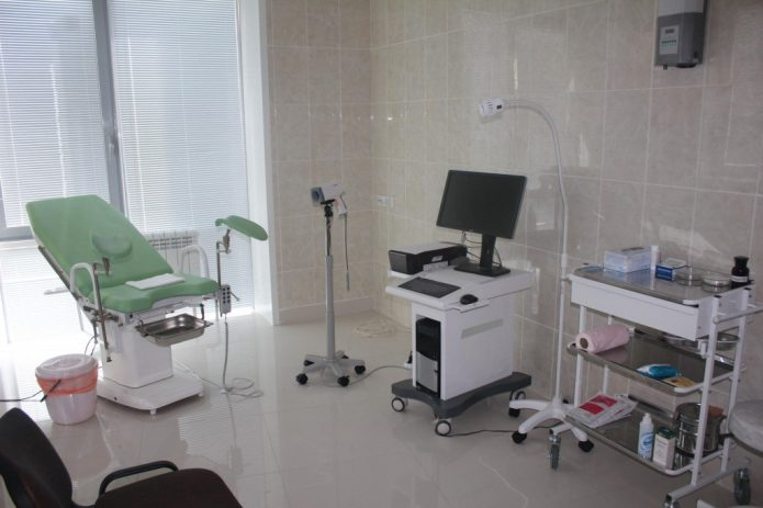 Кабинет цистоскопии