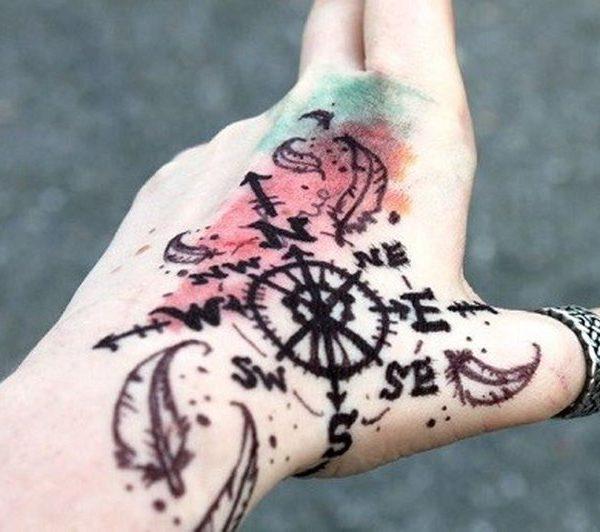 татуировки на кистях для девушек