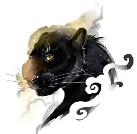 красивый эскиз пантера для женщин