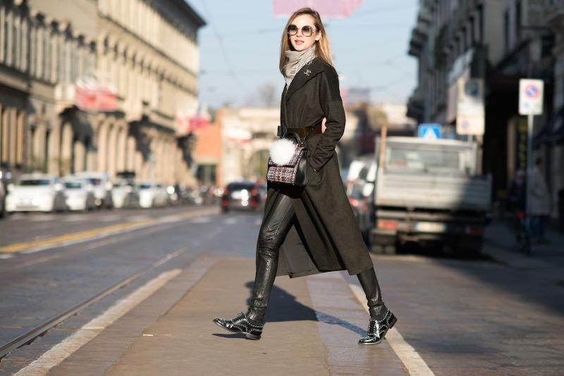 Вещи, с которыми отлично смотрятся кожаные брюки