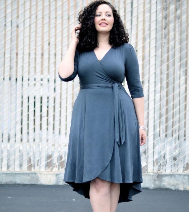 6 моделей платья, которые спрячут лишние килограммы от посторонних глаз