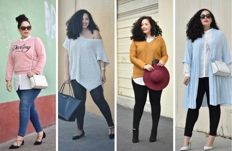 Как одеться полной женщине низкого роста, чтобы казаться стройнее и выше