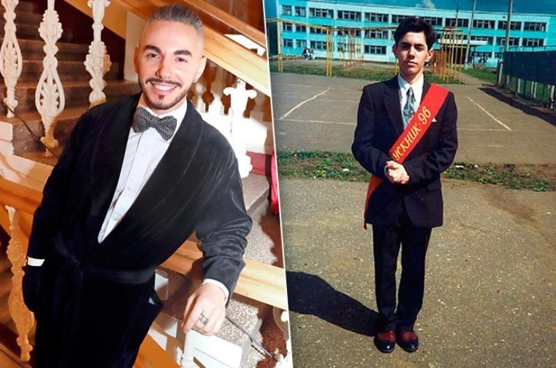 Как выглядели знаменитости на своих выпускных